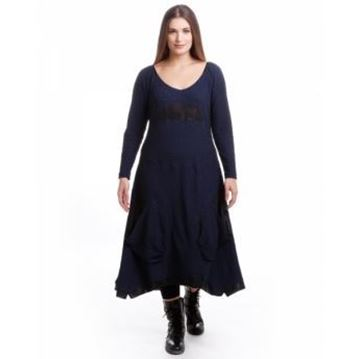 Picture of Dress in dark blue