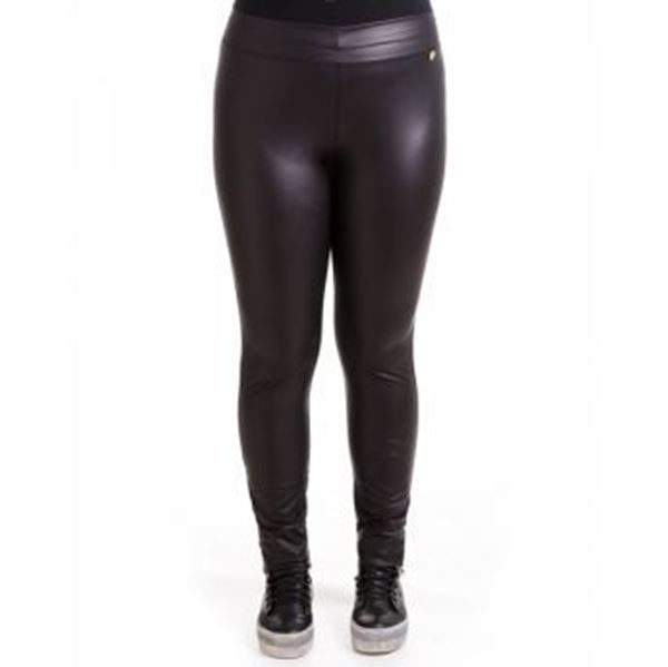 Picture of Leggings leather imitation