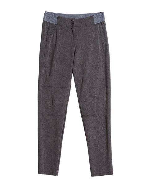 Picture of Trousers in dark blue, grey and black