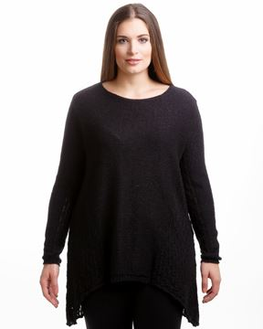 Image de Pullover blanc, noir & bleu