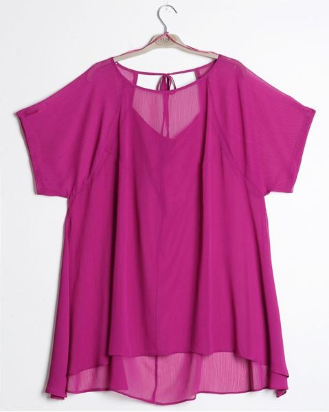 Picture of Top in fuchsia or royal blue