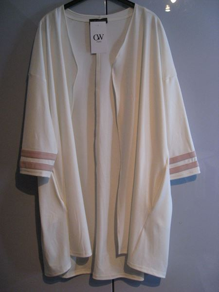 Picture of Long white jacket
