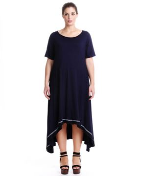 Picture of Midi-Dress black