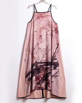 Image de Robe maxi rose