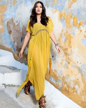 Picture of Maxidress transparent
