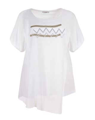 Picture of Layered chiffon top