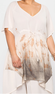 Picture of Butterfly sleeve long top