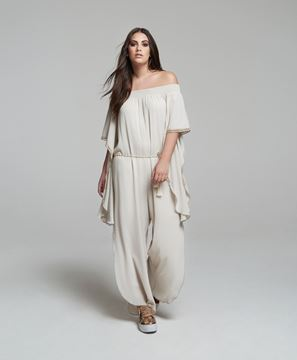 Picture of Cropped crêpe jumpsuit