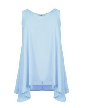 Picture of Sleeveless crepe top
