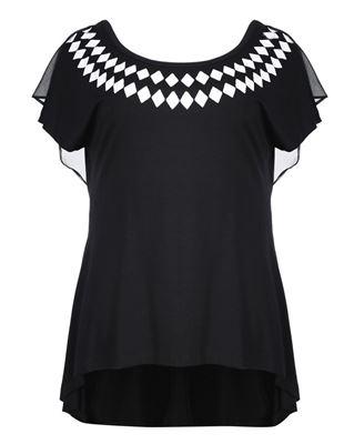 Bild von T-Shirt in schwarz oder weiss
