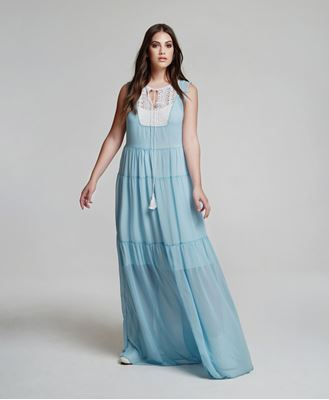 Picture of Maxidress light blue