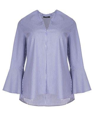 Picture of striped batiste tunic
