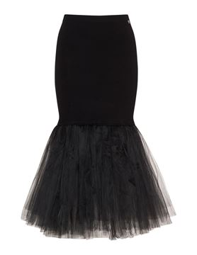 Picture of Tulle and jersey skirt
