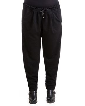 Picture of Ethnic-pattern tapered pants/ waistband