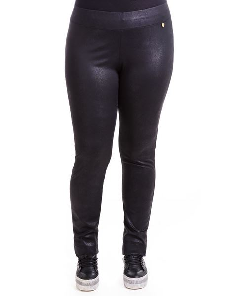 Picture of Shiny-textured leggings