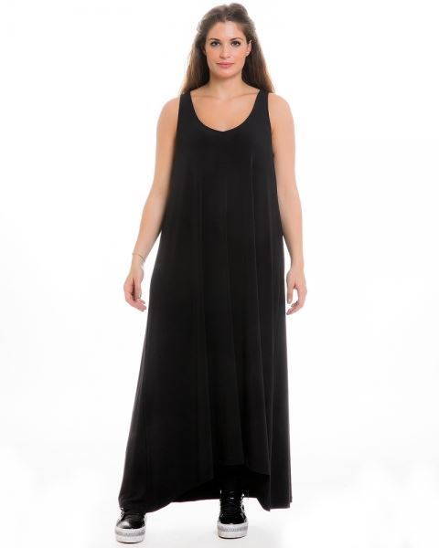 Picture of Basic Maxi-Dress in cigar