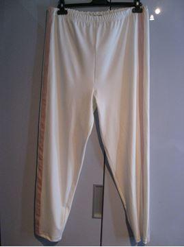 Bild von Weisse Hose mit rosa Streifen