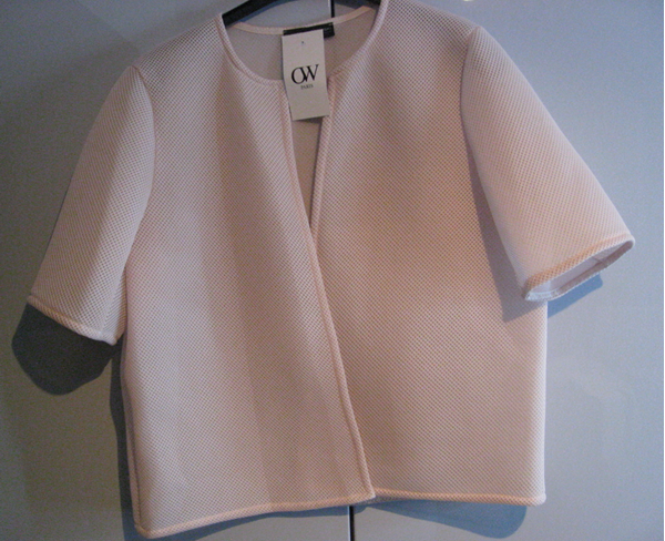 Picture of Short jacket/Bolero white & pink