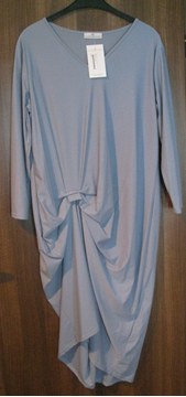 Picture of Dress in mint green & light blue