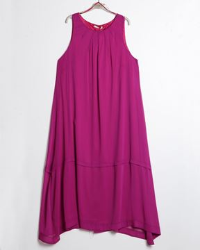 Picture of Maxidress in fuchsia