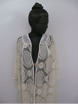 Picture of lace hoodie jacket