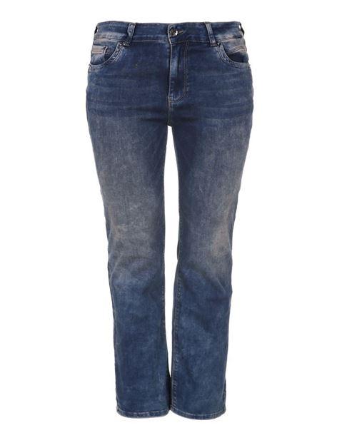 Bild von Blaue Straight Leg Jeans