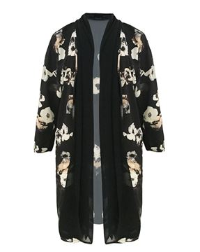 Picture of Flower print jacket