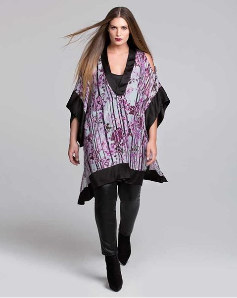 Picture of Printed Chiffon Tunic