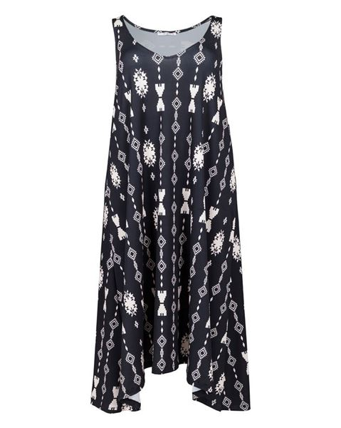 Picture of Maxi dress with print