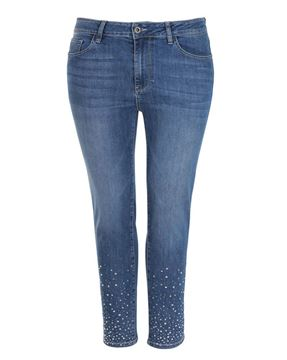Picture of Blue jeans with strass