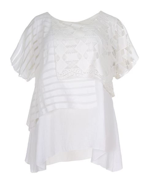 Picture of LAYERED LACE TOP