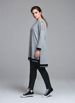 Bild von Langes Sweatshirt
