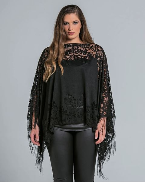 Picture of Lace poncho