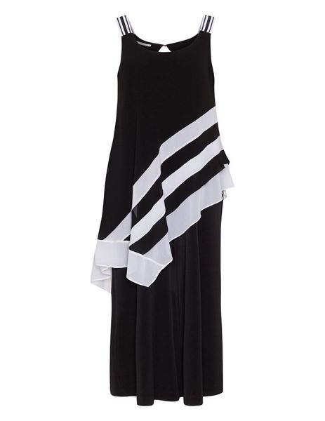 Picture of Black striped jumpsuit