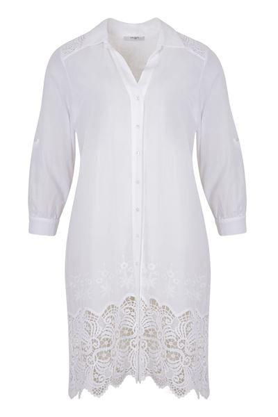 Picture of Lace long blouse