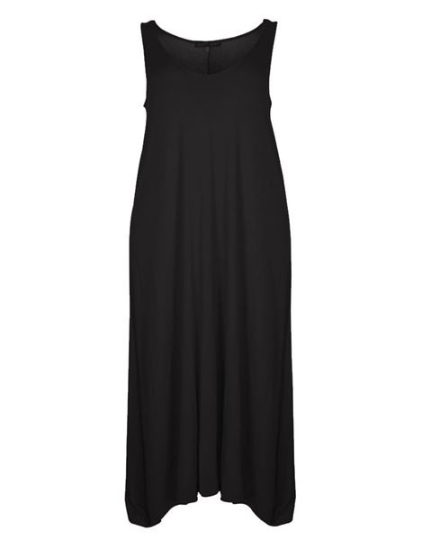 Picture of jersey dress black & white