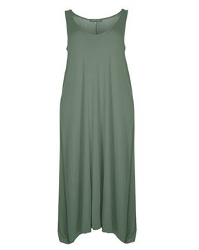 Picture of jersey dress khaki