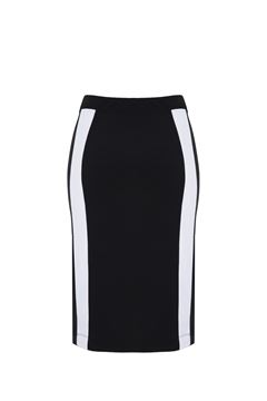 Picture of striped pencil skirt