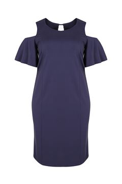Bild von Kleid mit Cold-Shoulder
