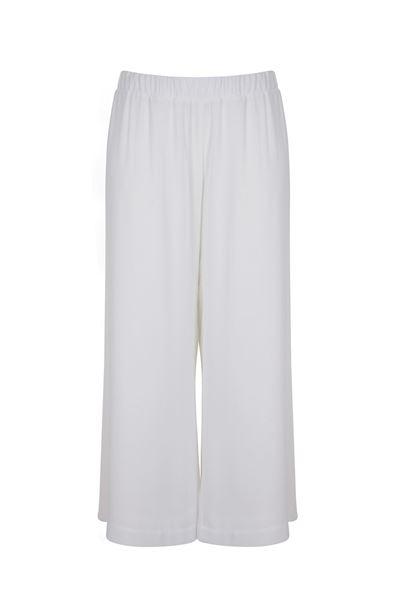 Image de Pantalon large blanc