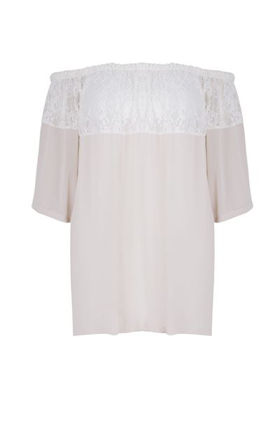 Picture of Top off-the-shoulder neckline