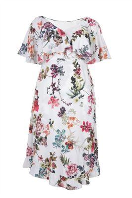 Image de Robe à fleurs avec froufrous