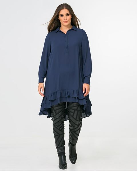 Picture of Ruffled hem tunic