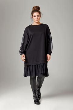 Bild von Kleid mit Tüllsaum