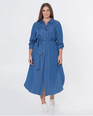 Picture of Chambray shirt dress