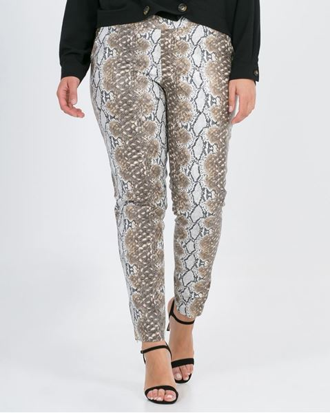Picture of Trousers in snake print
