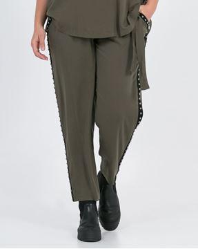 Bild von schwarze Hose mit Nieten