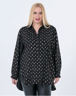 Picture of Foil print tunic