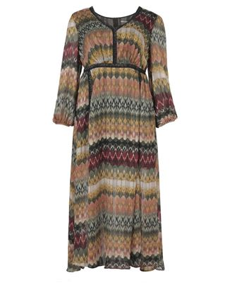 Picture of Maxidress in graphic print