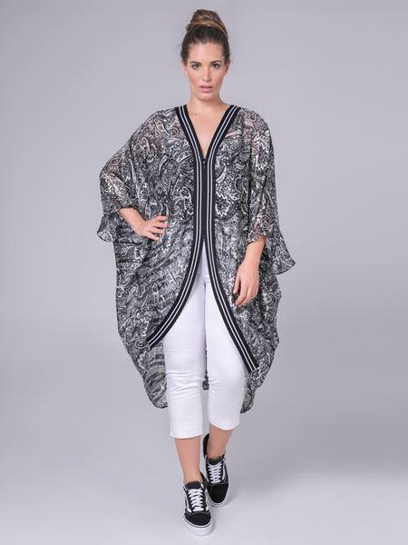 Picture of Kimono in paisley print